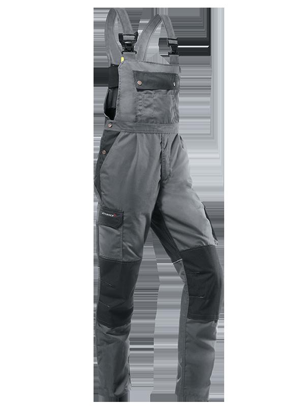 PFANNER StretchZone Spirit Arbeitshose grau schwarz Hose Stretch Zone Arbeit Bau