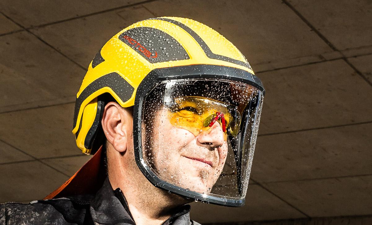 farblos Pfanner PROTOS Integral Schutzbrille